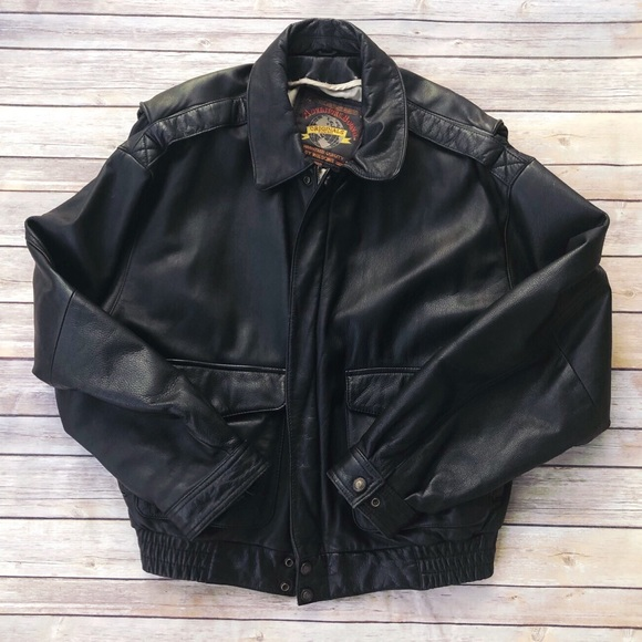 Wilsons Leather Other - Wilson's VINTAGE Leather bomber jacket coat